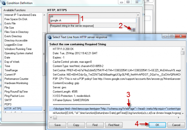 Image: HTTP, HTTPS
