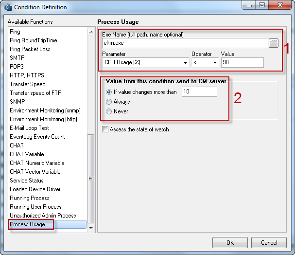 Image: Process Usage