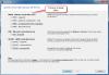 Výběr formátu zálohy pro modul C-vmwBackup